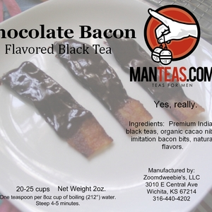 Chocolate Bacon Black Tea from Man Teas