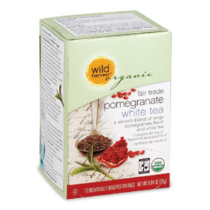 Fair Trade Pomegranate White tea from Wild Harvest Organic
