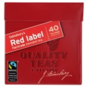Red Label from Sainsbury's