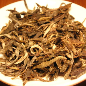 "2006 Spring Yi Wu ""Ma Hei Zhai"" Sun-dried Mao Cha from Hou De Asian Art & Fine Teas"