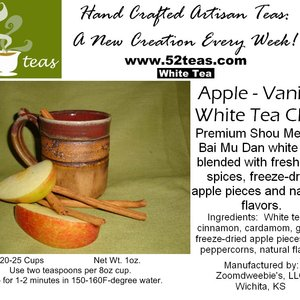 Apple-Vanilla White Chai from 52teas