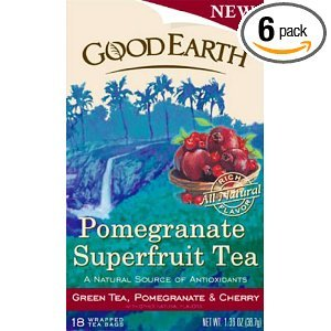 Pomegranate Superfruit from Good Earth Teas