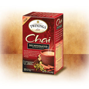 Decaffeinated Chai from Twinings