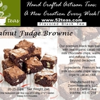 Walnut Fudge Brownie from 52teas