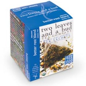 Organic Better Rest Blend from two leaves and a bud