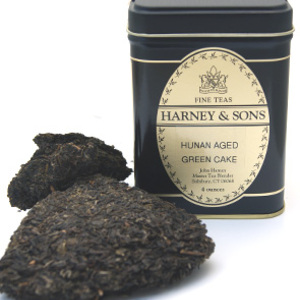 Hunan Aged Green Cake from Harney & Sons