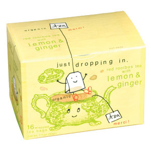 Tea Merci Lemon Ginger Tea from Blue Q