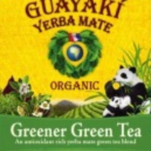 Greener Green Tea from Yerba Mate Organic