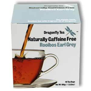 Rooibos Earl Grey from Dragonfly Tea