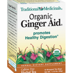 Organic Ginger Aid from Traditional Medicinals