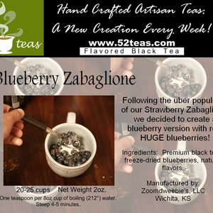 Blueberry Zabaglione from 52teas