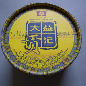 "2009 ""Da Yi Gong Tuo"" from Menghai Tea Factory"