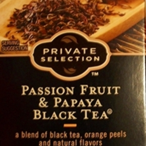Passion Fruit & Papaya black tea from Kroger Private Selection
