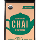 Slow Brew Decaffeinated Chai from Tipu&#x27;s