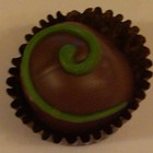 Matcha Tea-Infused Chocolate Truffle from Arbor Teas