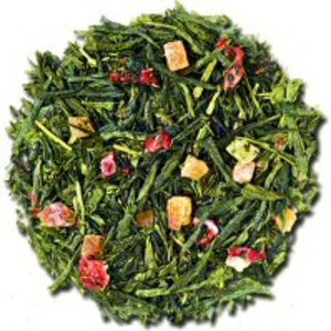 Long Island Strawberry Sencha from Culinary Teas