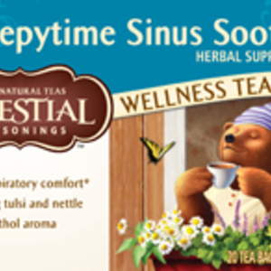 Sleepytime Sinus Soother Wellness Tea from Celestial Seasonings