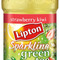 Sparkling Green Tea Strawberry-Kiwi from Lipton
