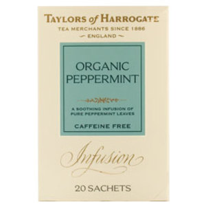 Organic Peppermint from Taylors of Harrogate