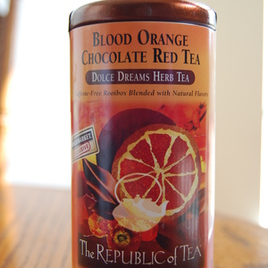 Blood Orange Chocolate Red from The Republic of Tea