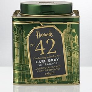 Earl Grey Tea No. 42 (bagged) from Harrods HERITAGE