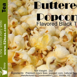 Buttered Popcorn from 52teas