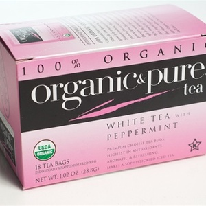 White Tea With Peppermint from Organic &amp; Pure Tea