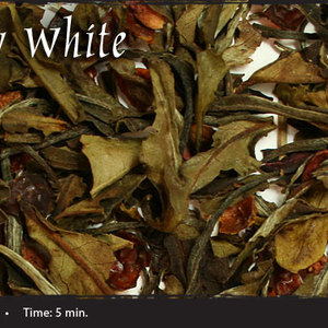 Strawberry White from Shanti Tea