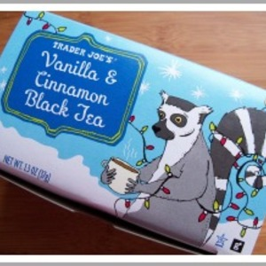 Vanilla & Cinnamon Black Tea from Trader Joe's