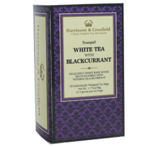 White with Blackcurrant from Harrisons &amp; Crosfield Teas Inc.