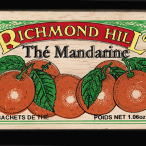 Mandarin Tea from Richmond Hill