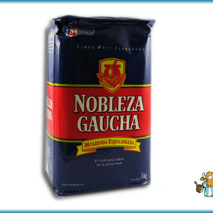 (Blue) Yerba Mate from Nobleza Gaucha