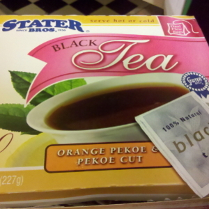 Black Tea from Stater Brothers