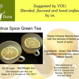 Citrus Spice Green from 52teas