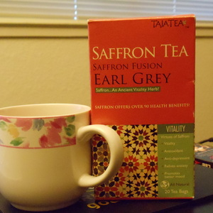 Saffron Fusion Earl Grey from Taja Tea