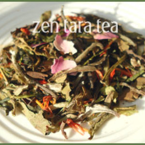 Organic Cherry Blossom White Tea from Zen Tara Tea
