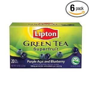 Purple Açai and Blueberry Green Tea Superfruit from Lipton