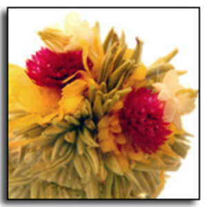 Marigold Meadow Blooming Tea from The Exotic Teapot