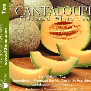 Cantaloupe Bai Mu Dan from 52teas
