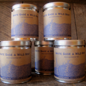 White Sage and Wild Mint Tea from Juniper Ridge