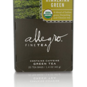 Himalayan Green Tea from Allegro
