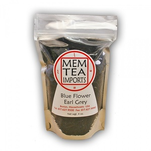 Blue Flower Earl Grey from MEM Tea Imports