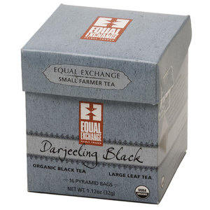 Organic Darjeeling Black Pyramid Tea from Equal Exchange
