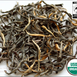 Organic fair trade Darjeeling Seeyok Dj-6 1st flush from Thé Santé