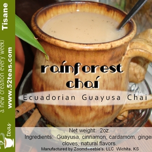 Rainforest Chai from 52teas
