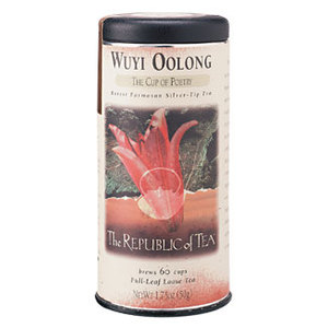 Wuyi Oolong from The Republic of Tea