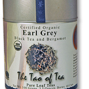 Certified Organic Earl Grey from The Tao of Tea