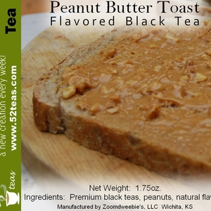 Peanut Butter Toast from 52teas
