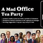 A Mad Office Tea Party from Adagio Teas