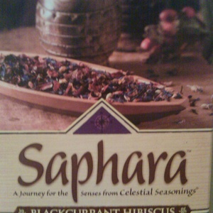 Blackcurrant Hibiscus - Saphara from Celestial Seasonings